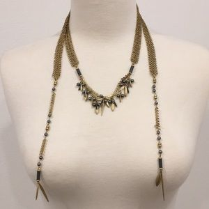 Stella and dot wrap necklace. Versatile!